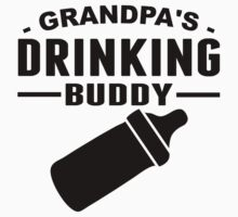 Grandpa's Drinking Buddy Kids Tee