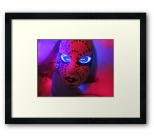 """""""I Will Tear Your Soul Apart If You Mean Me Harm"""" Framed Print"""
