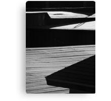 Monochrome morning Canvas Print
