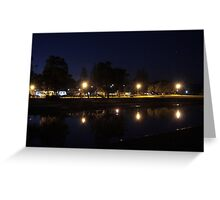 Warrior Lights Greeting Card