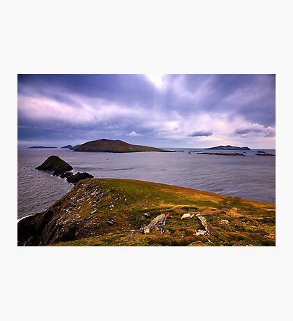 Blasket Island View Photographic Print