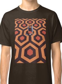 The Shining Screen Print Movie Poster  Classic T-Shirt