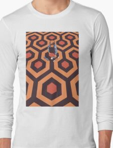 The Shining Screen Print Movie Poster  Long Sleeve T-Shirt