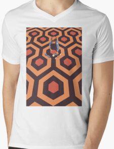 The Shining Screen Print Movie Poster  Mens V-Neck T-Shirt