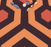 The Shining Screen Print Movie Poster  Sticker
