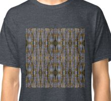 Grey skies and gold leaf Classic T-Shirt