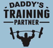 Daddy's Training Partner One Piece - Short Sleeve
