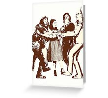 Wizard of Oz - Characters Greeting Card