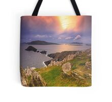 Blasket Island Sunset Tote Bag