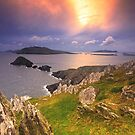Blasket Island Sunset by Michael Walsh