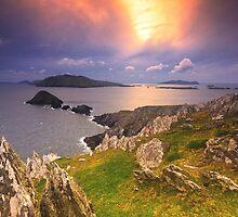 Blasket Island Sunset by Michael Walsh