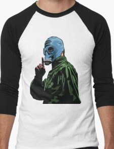 Dead Man's Shoes Comic Style Illustration Men's Baseball ¾ T-Shirt