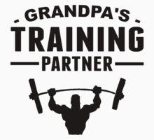 Grandpa's Training Partner Baby Tee