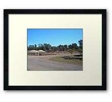 More of Bluff Framed Print