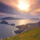 Blasket Island Sunset  2 by Michael Walsh