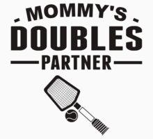 Mommy's Doubles Partner Kids Tee
