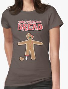 The Walking Dead GingerBread Man Zombies  Womens Fitted T-Shirt