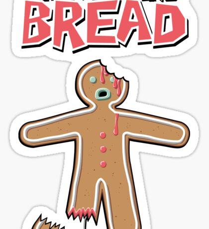 The Walking Dead GingerBread Man Zombies  Sticker