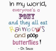 Pooping Butterflies! Dr Seuss Kids Clothes