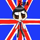 Chibi Zayn from One Direction by SpottiClogg