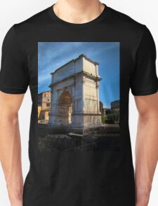 Jewish Arch - Arch Of Titus - Rome - Italy T-Shirt