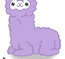 *NOT A LLAMA (Purple) by conspicuousdino