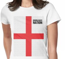 DRUM AND BASS NATION Womens Fitted T-Shirt