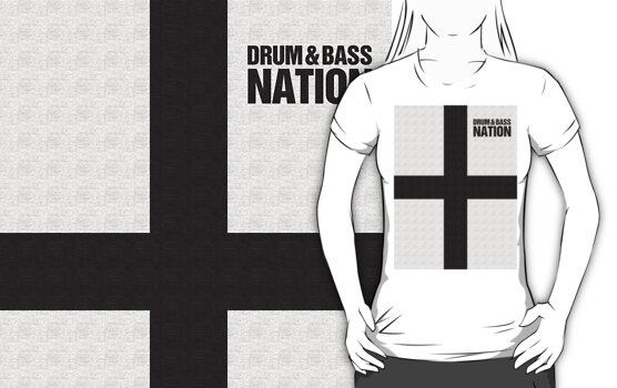 DRUM AND BASS NATION (BLACK) by DropBass