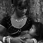 Motherhood-1 by Mukesh Srivastava