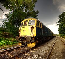 Class 33 at Bishop Auckland by Rob Hawkins