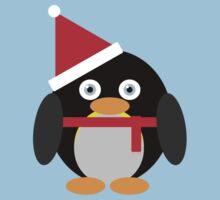 Festive Penguin Kids Tee