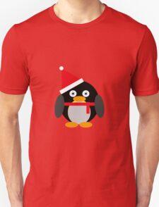 Festive Penguin Unisex T-Shirt