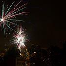 Happy New Year - Cuenca - Ecuador by Al Bourassa