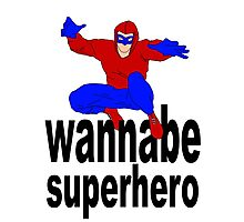 wannabe superhero 1 Photographic Print