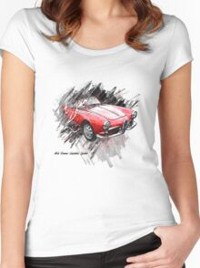 Alfa Romeo Giulietta Spider Women's Fitted Scoop T-Shirt