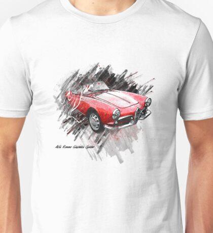 Alfa Romeo Giulietta Spider Unisex T-Shirt