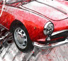Alfa Romeo Giulietta Spider Sticker
