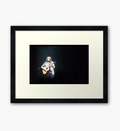 Newton Faulkner Framed Print