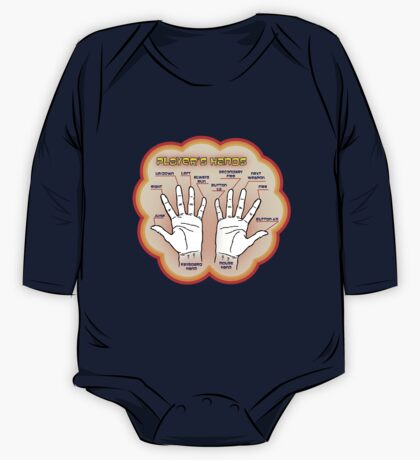 The player's hands. One Piece - Long Sleeve