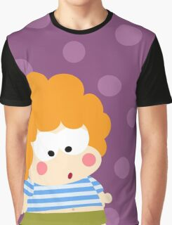 Curly Boy Graphic T-Shirt