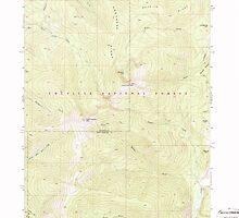 USGS Topo Map Washington State WA Abercrombie Mtn 239719 1967 24000 by wetdryvac