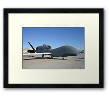 UAV Global Hawk Framed Print