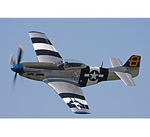 P51D Mustang  Photographic Print