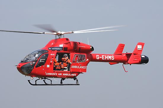 Londons air ambulance by mooneyes