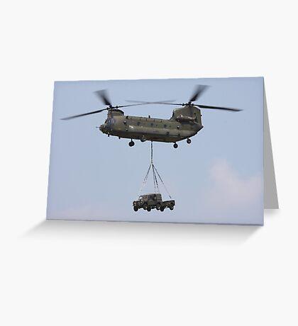 RAF Chinook Greeting Card