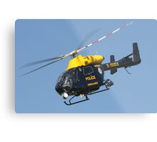 The Sussex police helicopter Metal Print