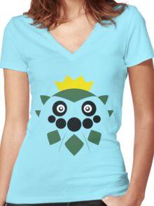 Pokemon - Cacnea / Sabonea Women's Fitted V-Neck T-Shirt