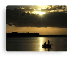 Warrior Afloat Canvas Print