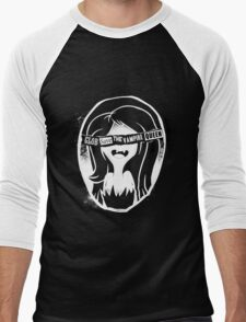 Glob save the vampire Queen Men's Baseball ¾ T-Shirt