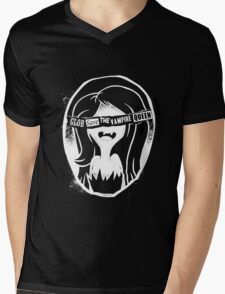 Glob save the vampire Queen Mens V-Neck T-Shirt